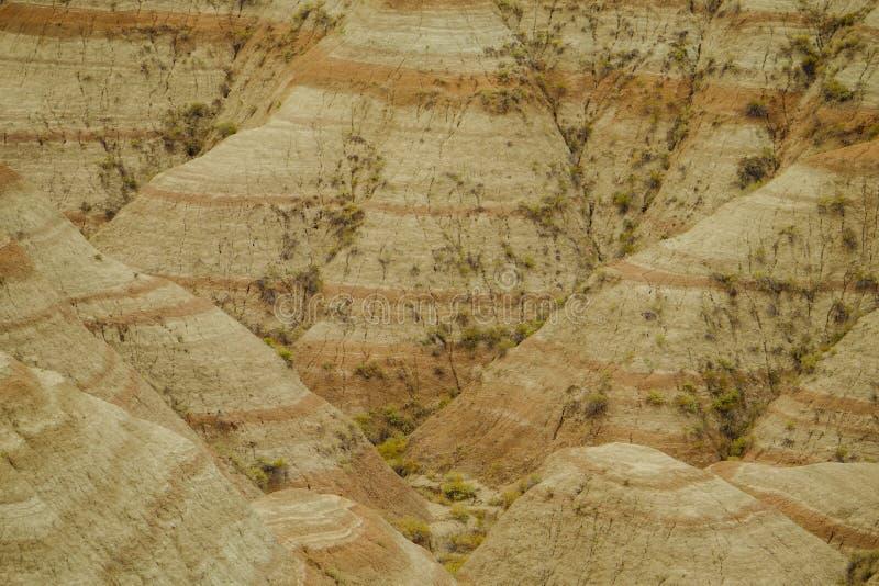 Het Nationale Park van panoramabadlands, Zuid-Dakota, de V.S. stock fotografie