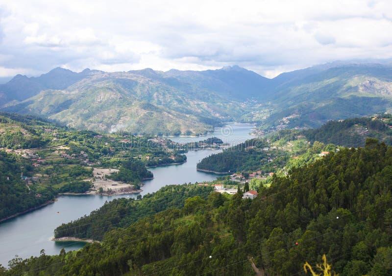 Het nationale park van Penedageres in Norte-gebied, Portugal royalty-vrije stock fotografie