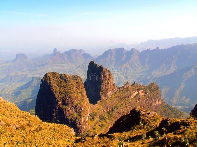 Het Nationale Park van Simien stock foto's