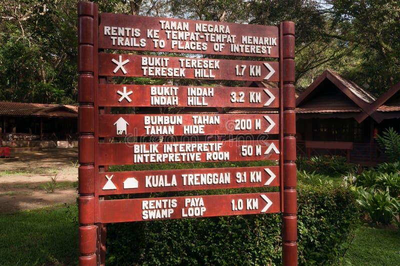 Het Nationale Park van Tamannegara royalty-vrije stock afbeeldingen