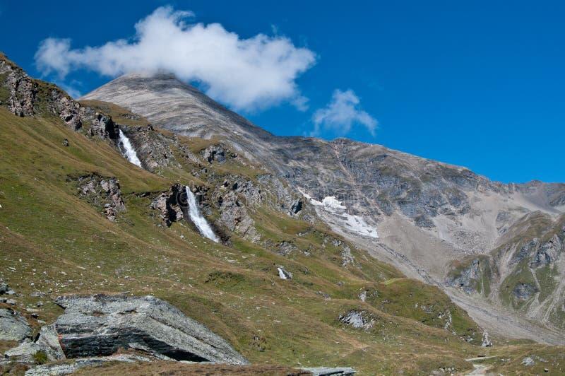 Het Nationale Park van Tauern van Hohe stock afbeeldingen