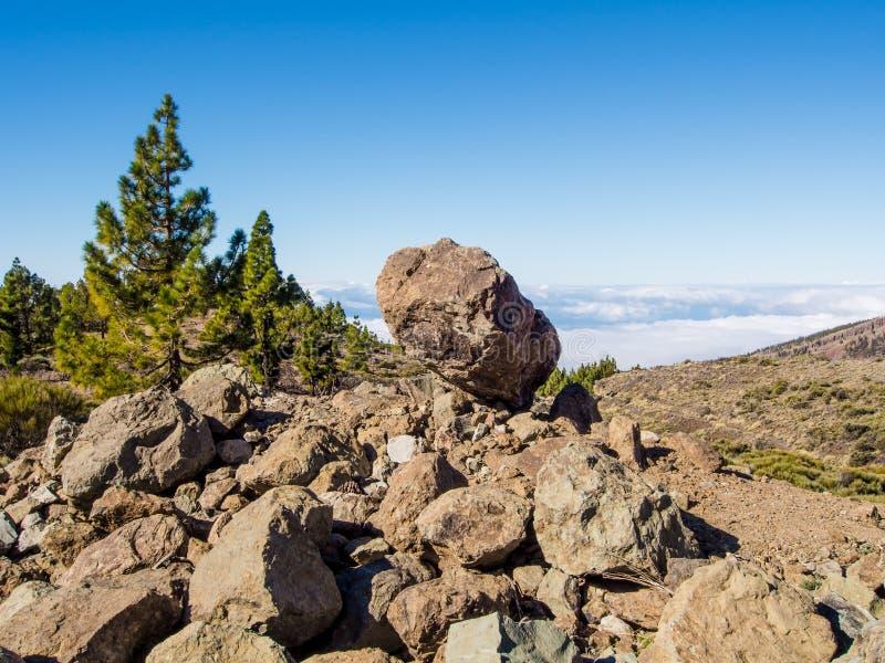 Het Nationale Park van Teide, Tenerife royalty-vrije stock foto's
