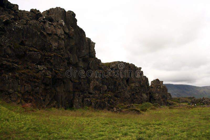 Het Nationale park van Thingvellir, IJsland royalty-vrije stock afbeeldingen