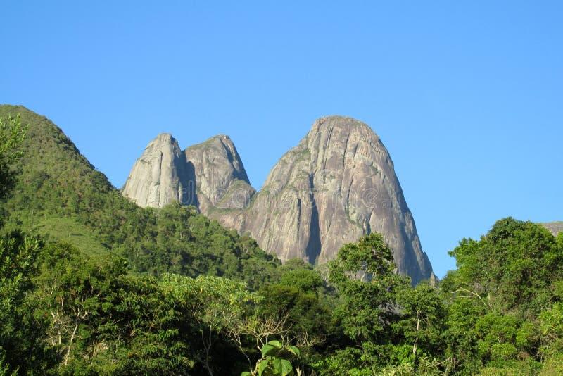 Het Nationale Park van Trespicos, Brazilië stock foto