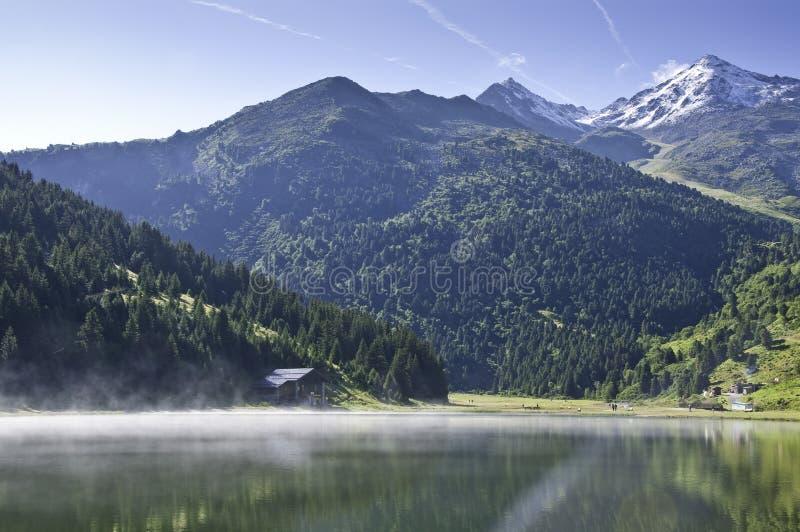 Het Nationale Park van Vanoise stock afbeeldingen