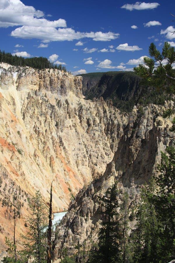 Het Nationale Park van Yellowstone, Grote canion royalty-vrije stock foto's