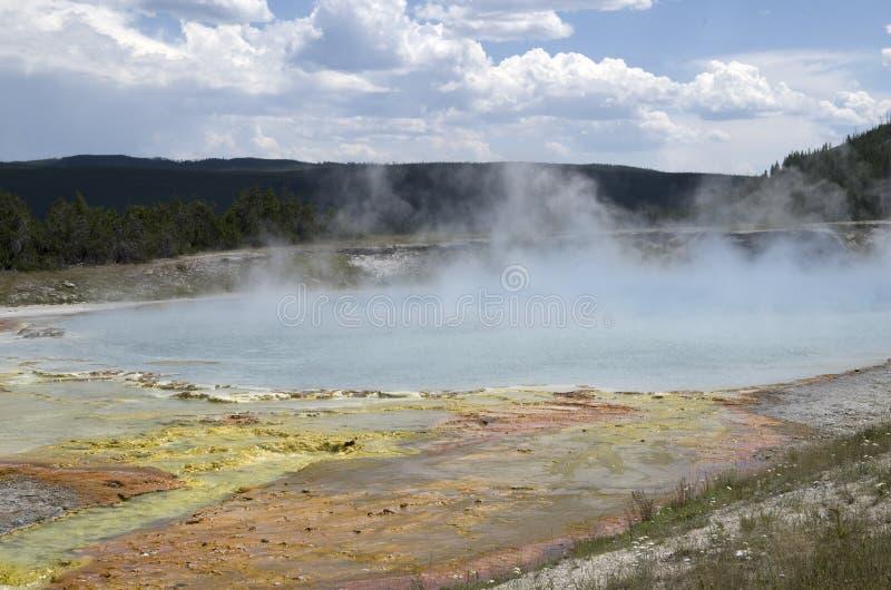 Het Nationale Park van Yellowstone van het koekjesbassin stock foto's