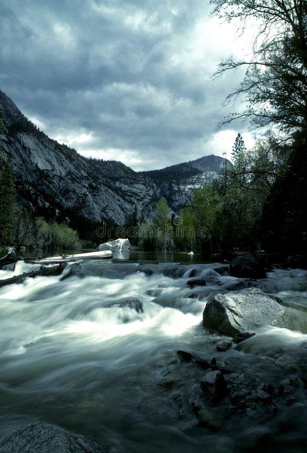 Het Nationale Park van Yosemite stock foto's