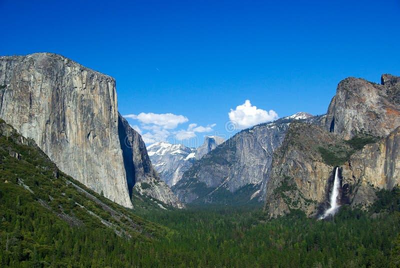 Het nationale park van Yosemite stock fotografie