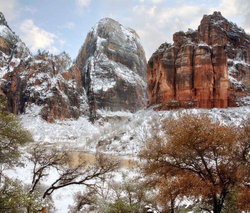 Het Nationale Park van Zion royalty-vrije stock afbeeldingen