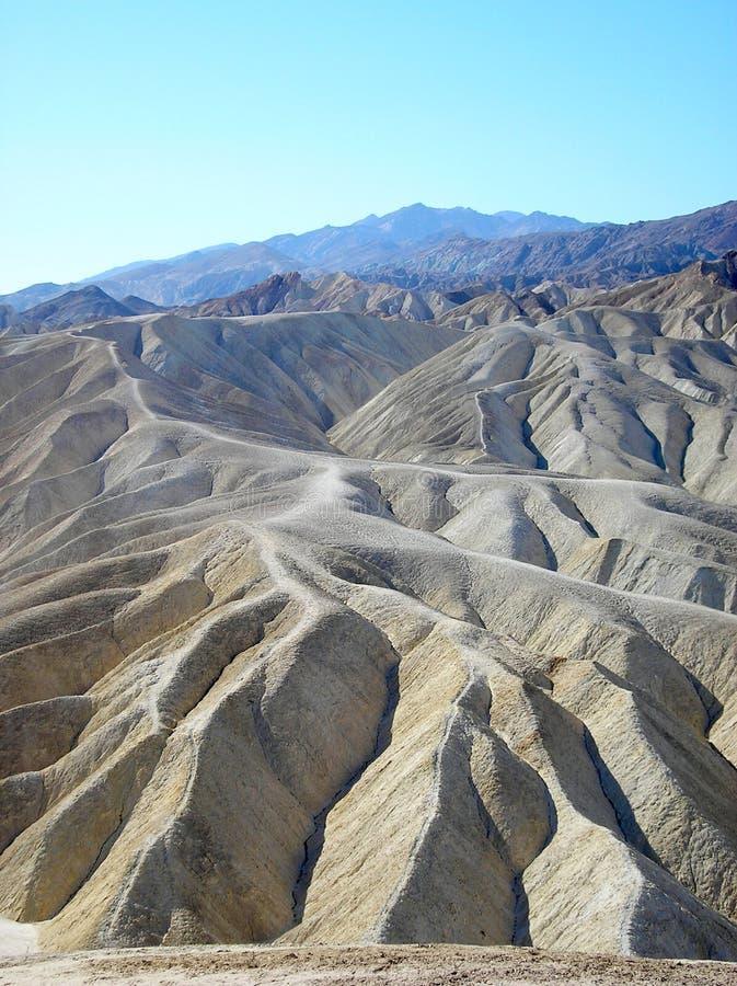 Het Nationale Park Verenigde Staten van de doodsvallei stock fotografie
