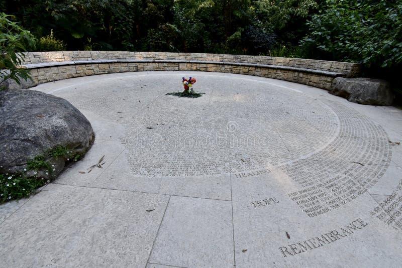 Het Nationale steunen Herdenkingsbosje San Francisco, 13 stock fotografie