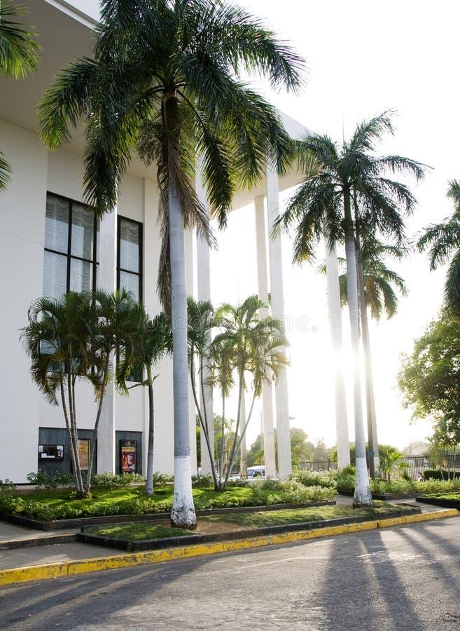 Het nationale theater Managua Nicaragua van Dario van Ruben stock afbeelding