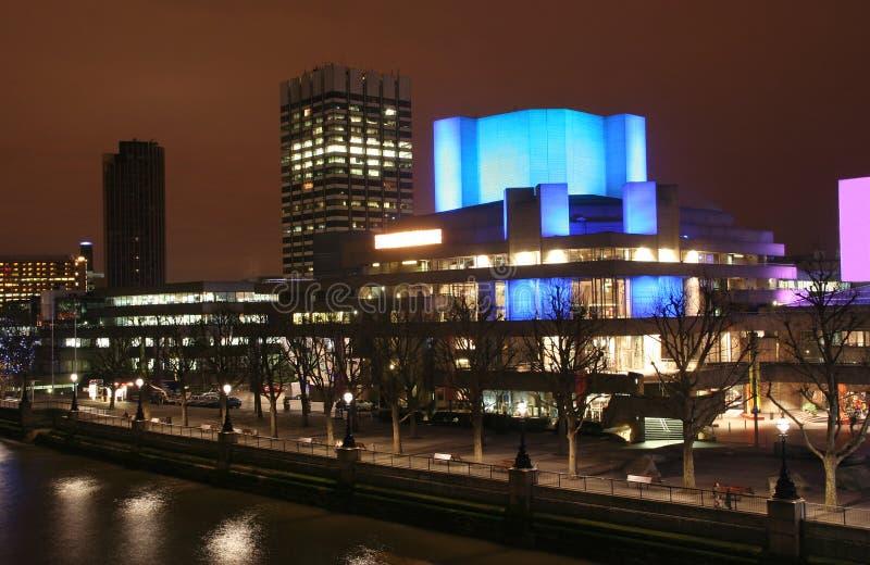 Het Nationale Theater van Londen stock fotografie