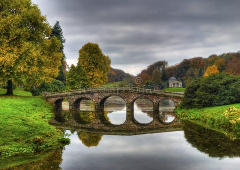 Het Nationale Vertrouwen van Stourhead royalty-vrije stock fotografie