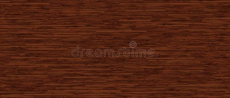Het natuurlijke houten opruimen of vloeren stock illustratie