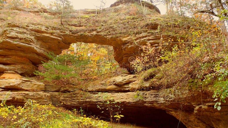 Het natuurlijke Park van de Brugstaat stock foto's
