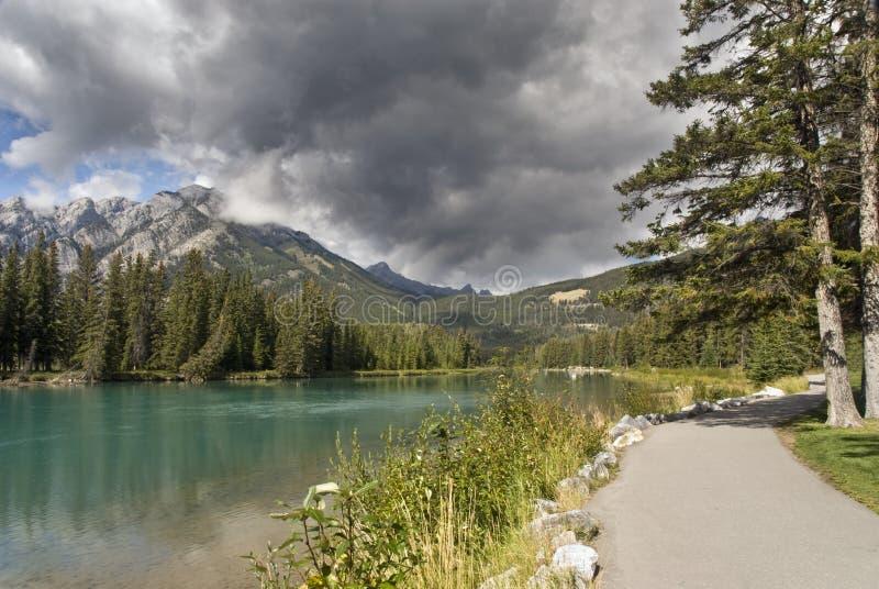 Het natuurreservaat van Banff, Canada stock fotografie