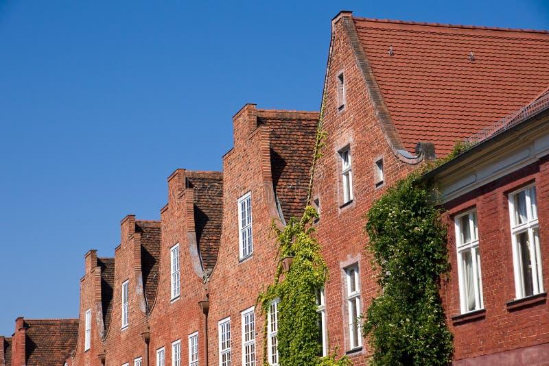 Het Nederlandse kwart in Potsdam royalty-vrije stock foto's