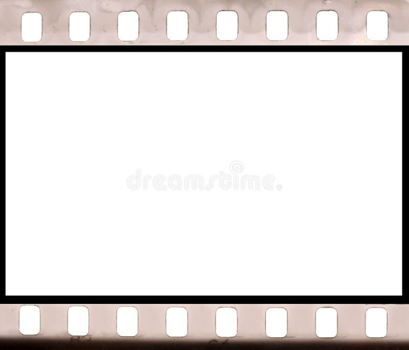 Het negatieve frame van de beeldfilm stock afbeelding