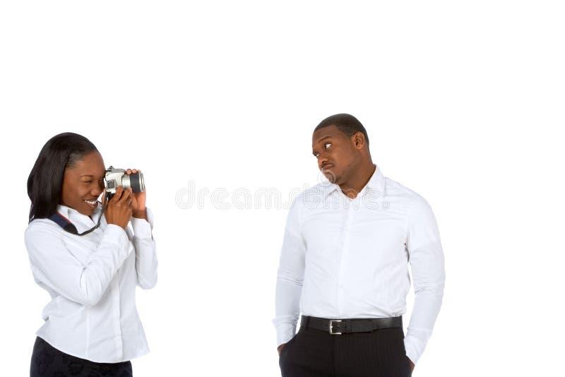 Het nemen van beelden stock foto's