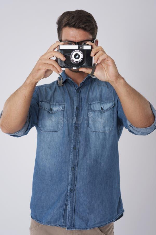 Het nemen van Foto stock foto
