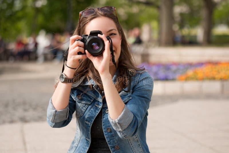 Het nemen van geheugen stock afbeeldingen