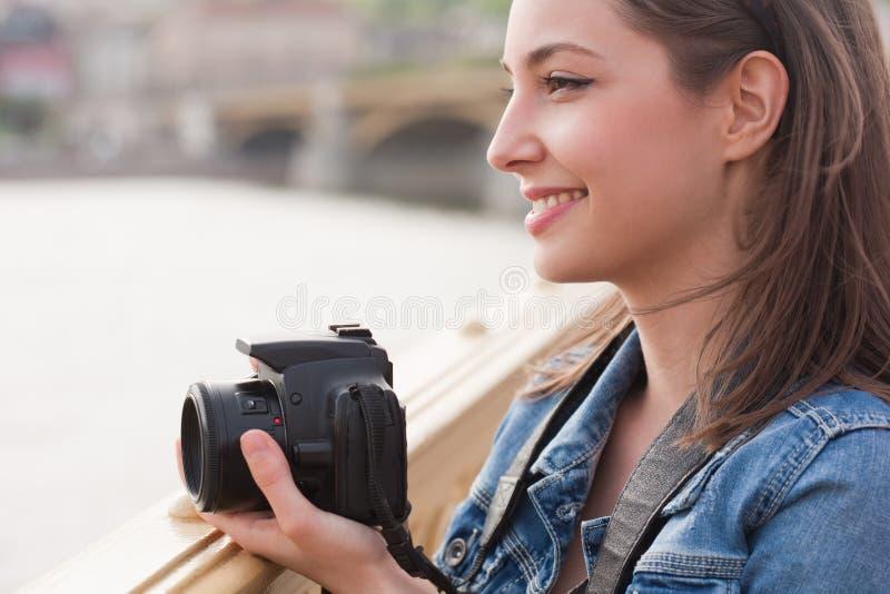Het nemen van geheugen stock foto