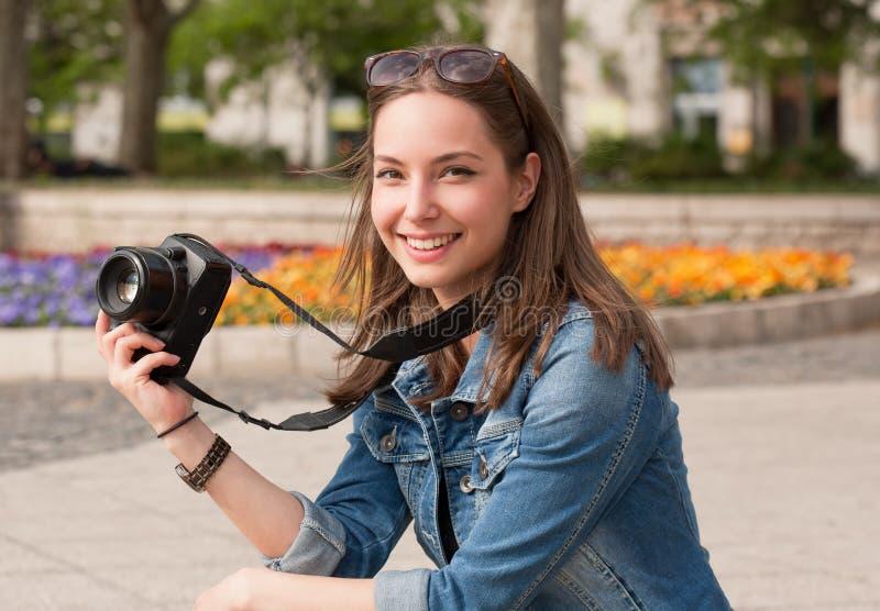 Het nemen van geheugen royalty-vrije stock fotografie