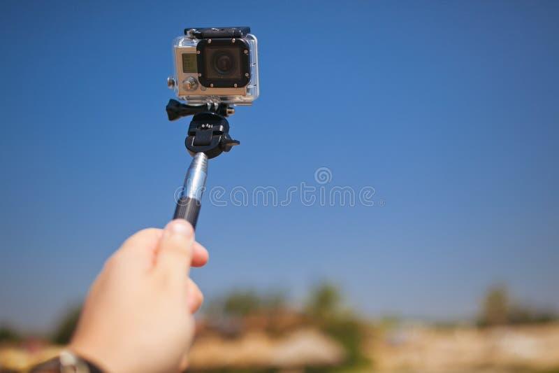 Het nemen van zelfportret royalty-vrije stock foto's