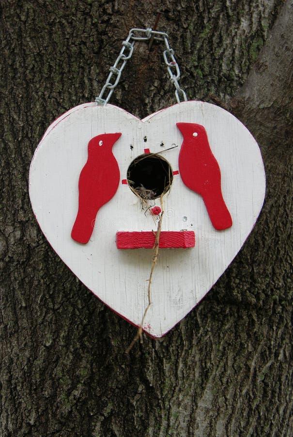 Het nest van de liefde stock afbeelding
