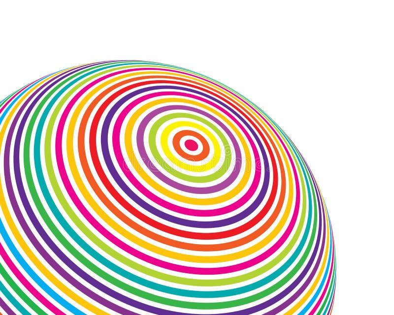 Het net van de bol vector illustratie