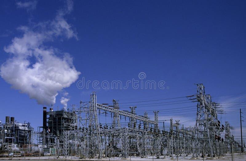 Het net van de Macht stock foto's