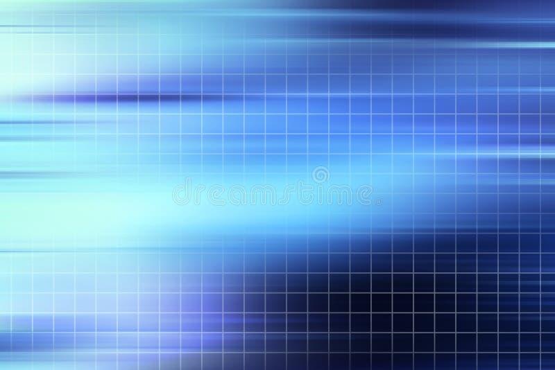 Het Net van Techno stock illustratie