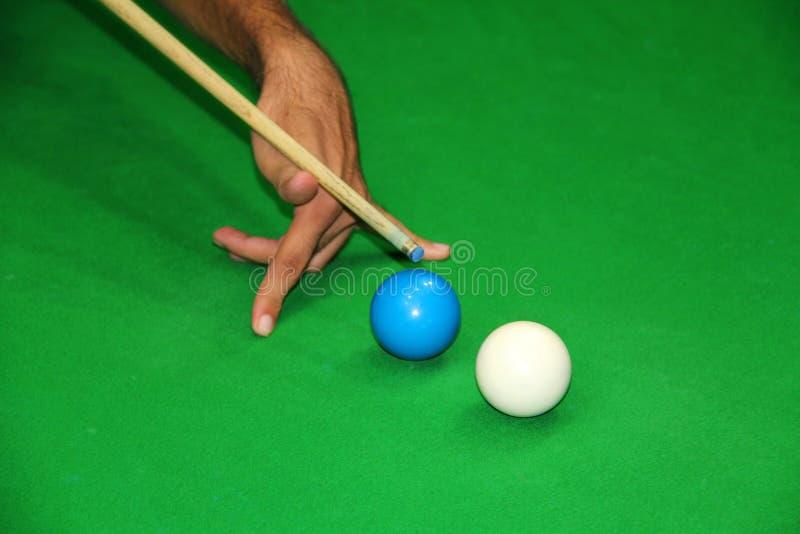 Het Netelige Schot Van De Snooker Royalty-vrije Stock Foto