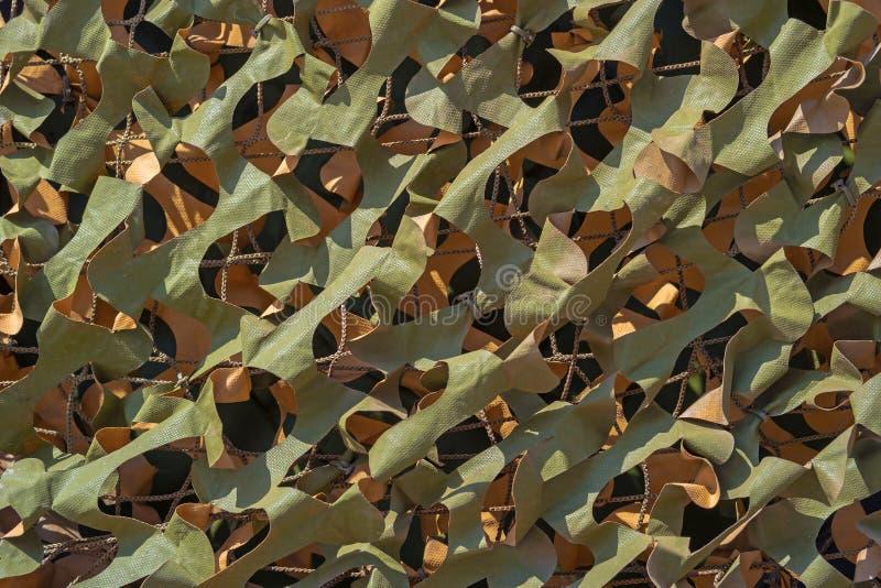 Het netto detail van de bladcamouflage stock afbeeldingen