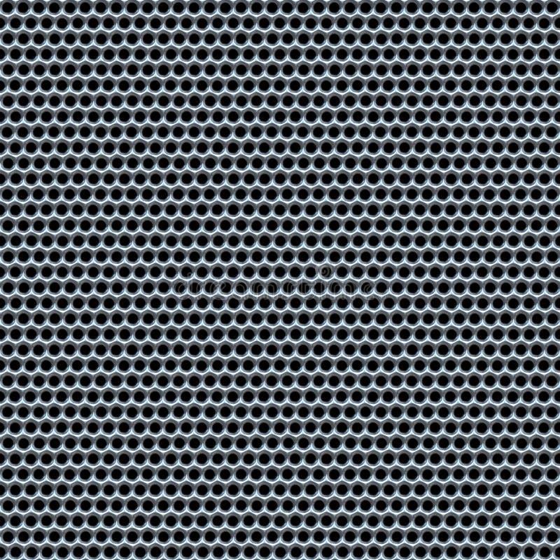 Het netwerk van het chroom vector illustratie