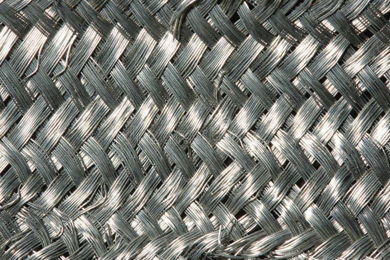 Het netwerk van het metaal royalty-vrije stock afbeelding