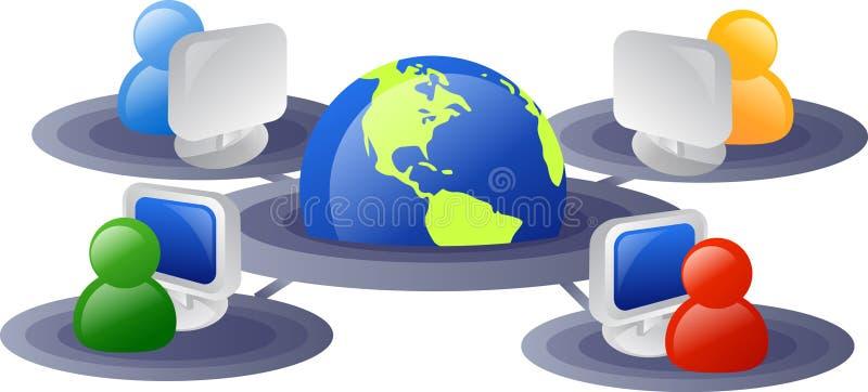 Het netwerk van Internet