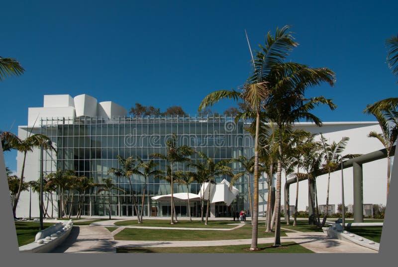 Het nieuwe Centrum van de Wereld, het Strand van Miami, FL royalty-vrije stock fotografie