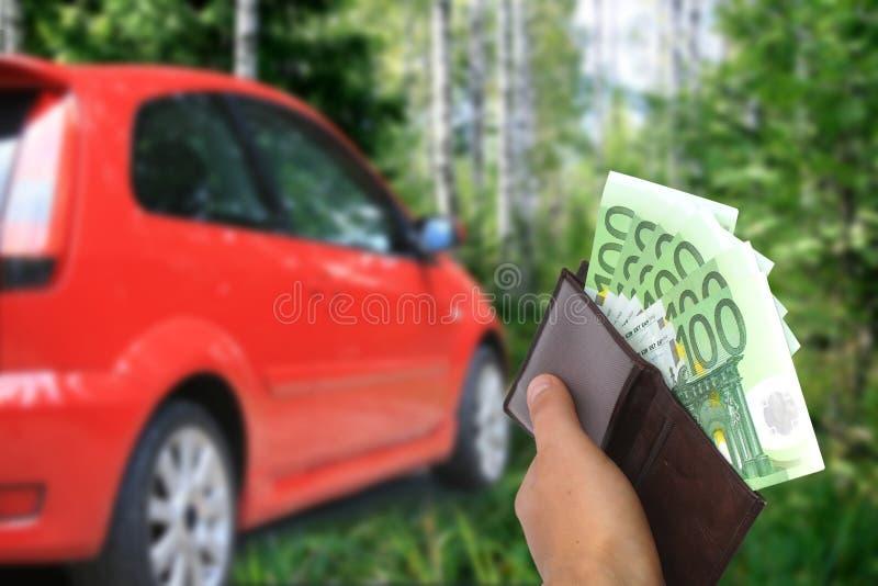Het nieuwe concept van de autoeigenaar royalty-vrije stock afbeelding