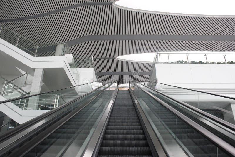 Het Nieuwe CRH-station in Wuhu (Wuhu, China) royalty-vrije stock fotografie