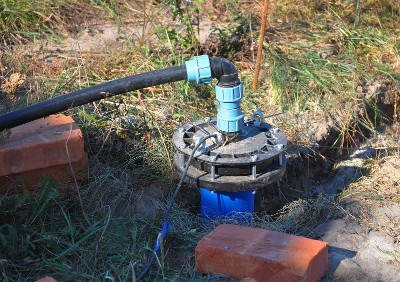 Het nieuwe Geïnstalleerde Water droeg royalty-vrije stock foto