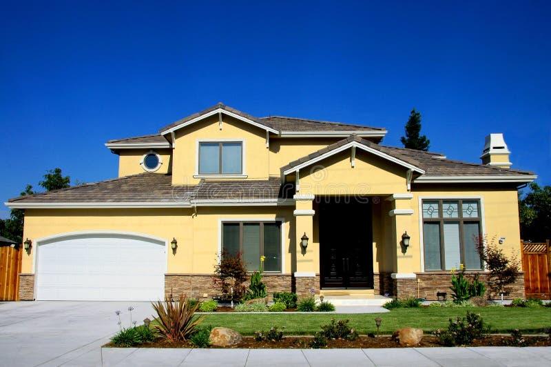 Het nieuwe Huis en Modelleren royalty-vrije stock foto