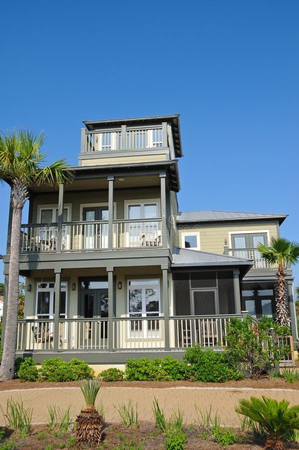 Het nieuwe Huis van het Strand van Florida stock foto