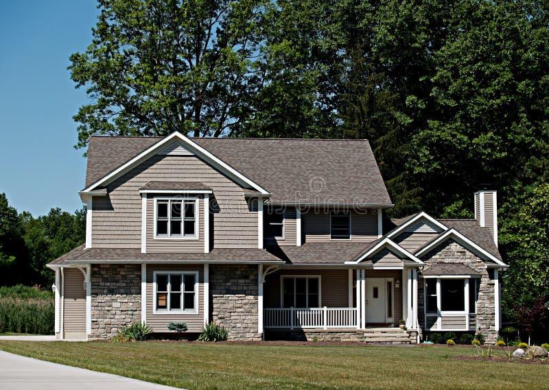 Het nieuwe Huis van Ohio stock foto's