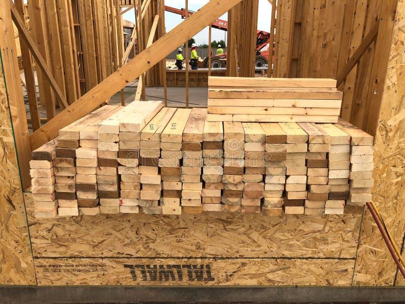 Het nieuwe Huisbouw Ontwerpen in het Zuidwesten stock fotografie