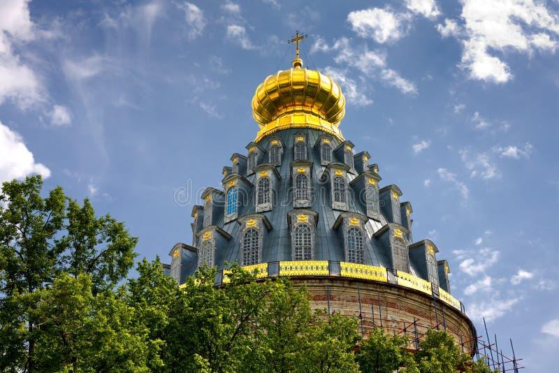 Het nieuwe klooster van Jeruzalem stock afbeelding