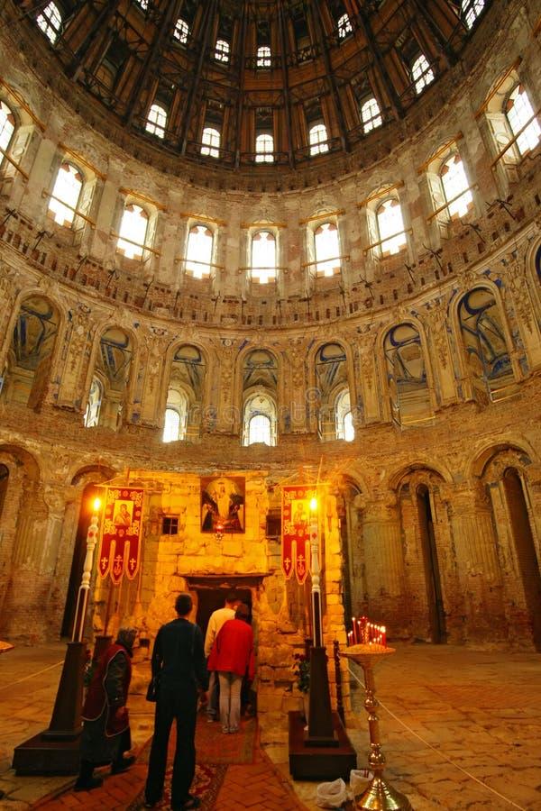 Het nieuwe klooster van Jeruzalem stock foto's