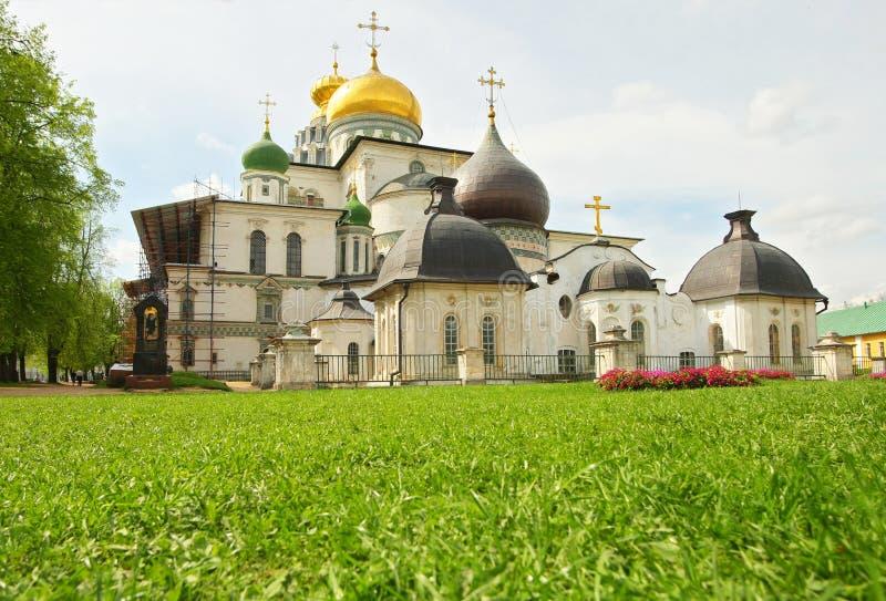 Het nieuwe klooster van Jeruzalem stock foto